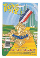 Wizard Oz Lion Courage Badge