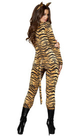 Costume de la tigresse impertinente - image arriere