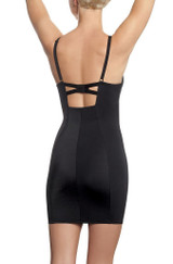 Retro Pin Up Shaping Slip Black back