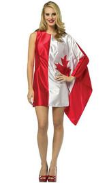 """Costume """"Drapeau Canadien"""" - image arriere"""