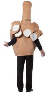 Costume de Doigt pour Adulte back