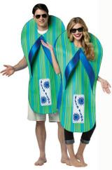 Costume de Tongs pour Adulte back