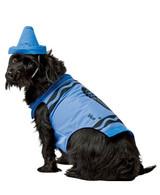 Costume Bleu pour Chiens de Crayola back