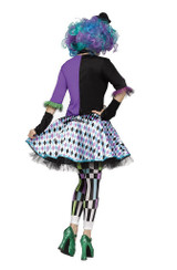 Costume du Chapelier Fou pour Adulte back
