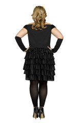 Costume du Dia De Los Muertos pour Adulte Taille Plus back