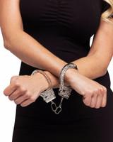 Rhinestone Handcuffs - image arriere