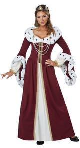 Costume de reine de Conte de Fées back
