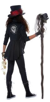 Costume Charme Vaudou pour préadolescent back