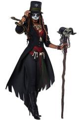 Costume Magie Vaudou pour Femme back