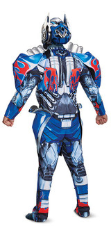 Optimus Prime pour adulte back
