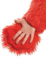 Elmo en peluche extra deluxe pour bambin back