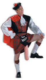 "Costume ""What's Under the Kilt?"" back"