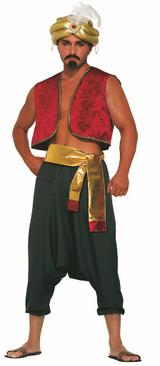 Pantalons Noirs d'Aladin Prince du Désert