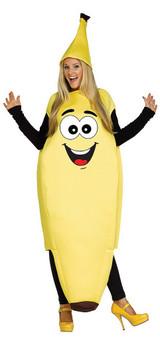 Costume de Drôle de Banane pour Adulte back