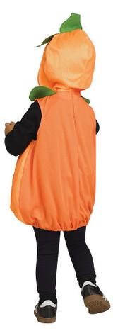 Tunique de Citrouille Orange aux Grands Yeux back
