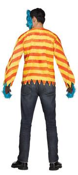 Costume d'Ours Tueur Brun pour Adulte back