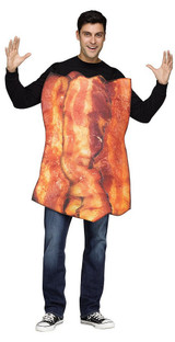 Costume Œufs et Bacon back