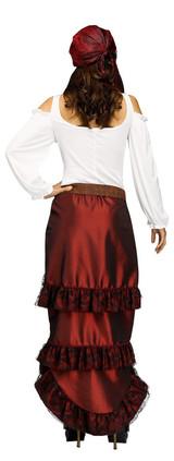 Costume de Reine des Pirates pour Adultes back