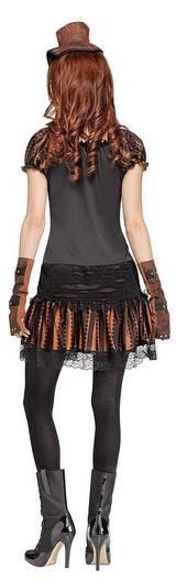 Costume de Skele-Punk pour Adulte back