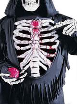 Costume de Squelette Ensanglanté pour enfant back