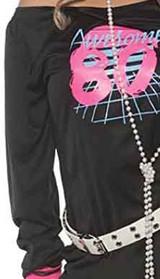 Costume pour Femme Super Années 80