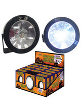 Mini LED Round Strobe - with Sound and MOTION ACTIVATED - Battery Operated (NOT included)