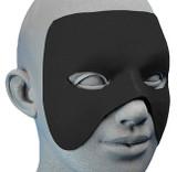 Masque de Héros Bleu Customisable back