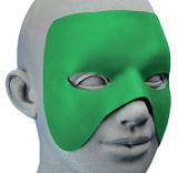 Masque de Héros Noir Customisable back