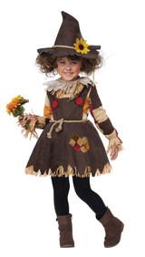 Costume d'Epouvantail du Champ de Citrouilles pour Bambin back