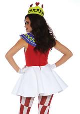 Costume de Reine de Cœur back