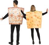 Costume de Cracker et Fromage back
