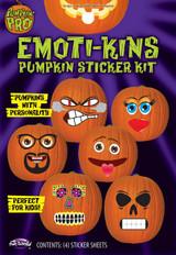 Kit de Stickers Emoti-kins pour Citrouille back