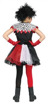Costume Cruella de Vil Pour Enfant back