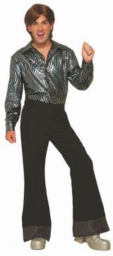 Pantalon Disco Noir pour Hommes