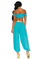 Costume de Jasmine Princesse de l'Oasis back