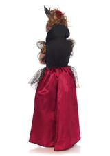 Costume de Reine de Cœur Deluxe pour Fille back