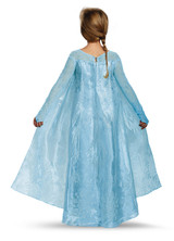 Costume d'Elsa Reine des Neiges Enfant Ultra Prestige back