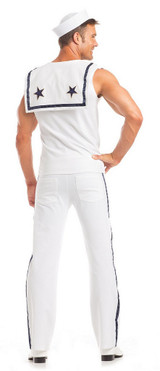 Sexy Sailor Mens Costume back