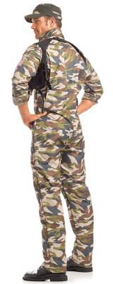 Sergeant Major Mens Costume back
