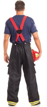 Firefighter Mens Costume back