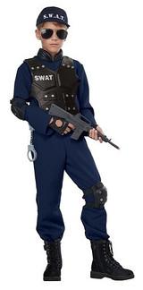 Costume de Policière SWAT pour Garçon