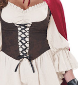 Costume de Chaperon Rouge pour Femme