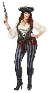 Costume Femme Pirate Plus