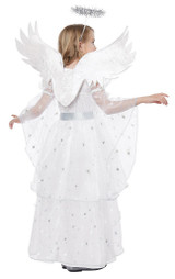 Costume Ange Étoilée pour Fille back