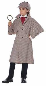 Costume de Détective Anglais Sherlock Holmes pour Garçon