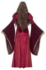 Costume de Reine Médiévale Deluxe back