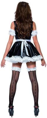 Costume de Charmante Femme de Chambre back