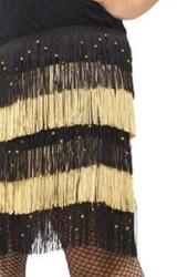 Costume Flapper à Franges pour Femme des 1920s