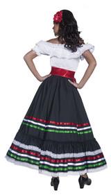 Costume de Danseuse Espagnole pour Femme back