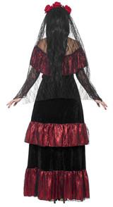 Costume Mariée du Jour des Morts back